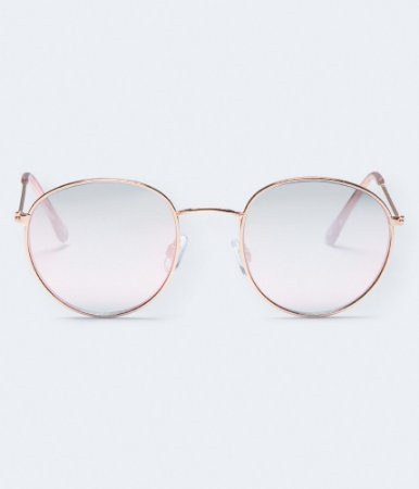 Óculos De Sol Feminino Aeropostale Round Redondo