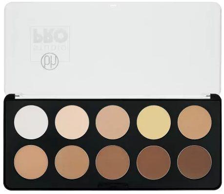 Paleta de Contorno com 10 Cores - BH Cosmetics