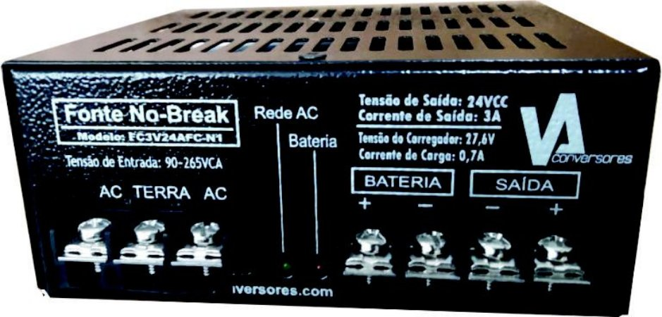 FONTE MINI NOBREAK 13,8V 0,7A