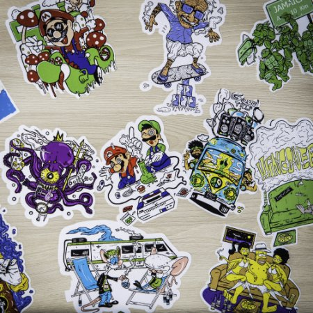 ACID STICKERS PACK
