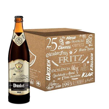 Cerveja Fritz Dunkel - 500ml - CAIXA 12 UNIDADES