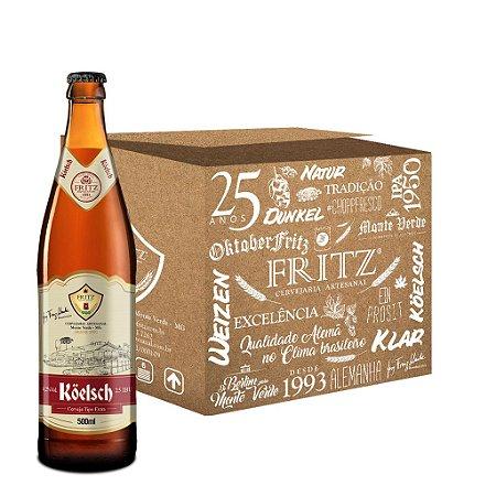 Cerveja Fritz Köelsch - 500ml - CAIXA 12 UNIDADES