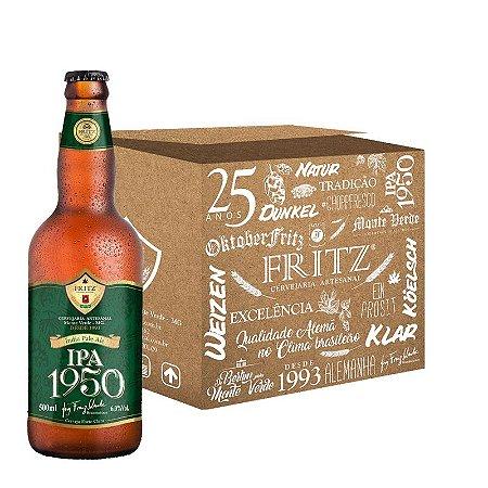Cerveja Fritz IPA1950 - 500ml - CAIXA 12 UNIDADES