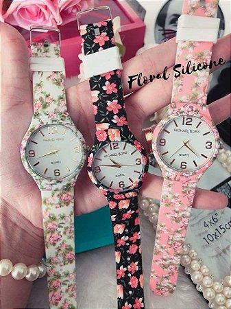 Relógio MK Floral Atacado - Jl Relógios e Acessórios - Relógios para ... 5a975a2660