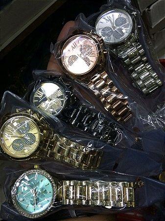 Relógio Feminino MK dourado, rose gold e prata - Relógios para ... 881f719fe8
