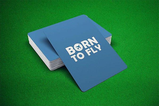 Baralho Born to Fly - Azul e Vermelho