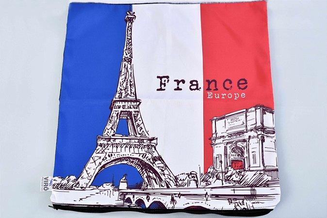 Capa de Almofada - França - cód. 073