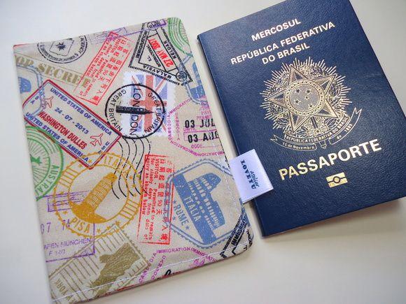 Capa de passaporte