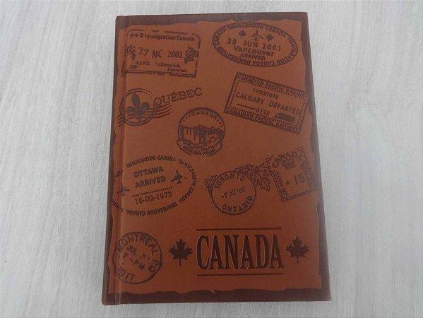 Caderneta de anotações Canadá