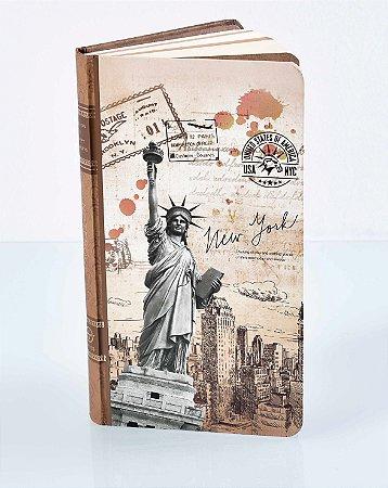 Caderneta de anotações - New York