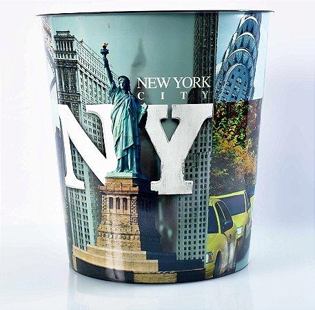 Cesto de lixo New York