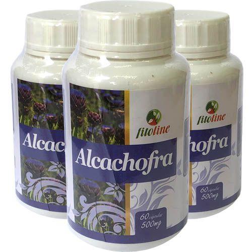 Alcachofra Concentrada 500mg 60 Cápsulas