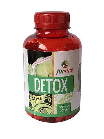 Detox 500mg 120 Cápsulas