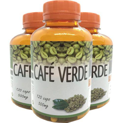 Seca Barriga Café Verde Super Concentrado 3x 120 Cps 500mg