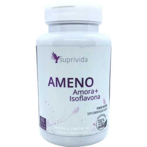 Amora Isoflavona Ajuda Menopausa Suprivida Ameno 500mg
