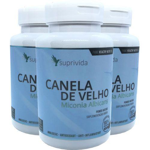 Canela De Velho Anti-inflamatório Antioxidante 500mg (kit 3 unidades)