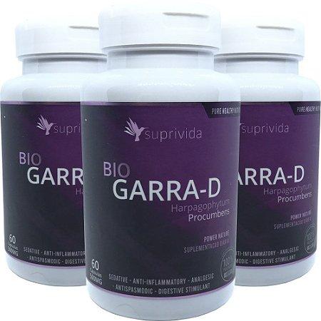 Bio Garra-d Analgesico Natural 500mg (kit 3 unidades)