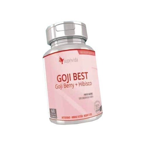 Seca Barriga Goji Berry + Hibisco Suprivida 500mg (kit 3 unidades)