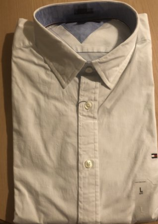 05a2c7c4f7c5 Camisa de manga longa Tommy Hilfiger masculina tamanho G - Adriana ...