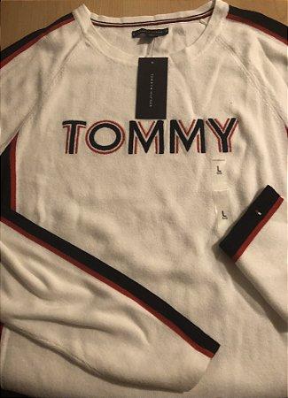 53a8e82dc98b Blusa de frio Tommy Hilfiger feminina tamanho G - Adriana AK Importados