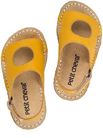 Sandália Infantil Peteca Amarelo - Baby