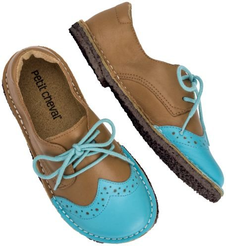 Sapato Infantil Pique-nique Céu/Caramelo - Kids