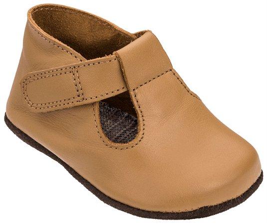 Sapato Infantil Chocalho Caramelo - Mini