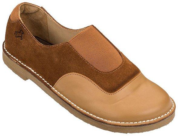 Sapato Infantil Cata-Vento Caramelo/Melado - Baby
