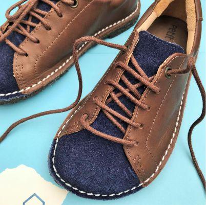 Sapato Infantil Pipa Bleu/ Chocolate