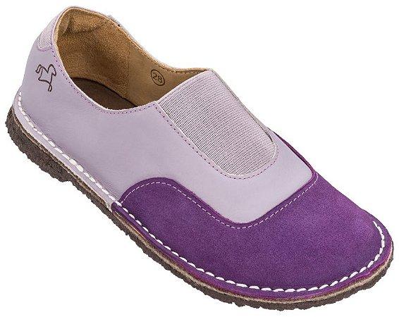 Sapato Infantil Cata-Vento Uva/ Lavanda