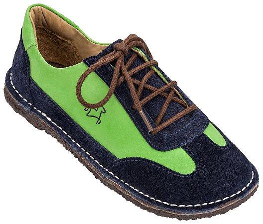 Sapato Infantil Botão Bleu/ Limão