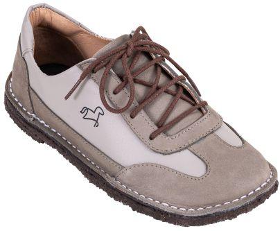 Sapato Infantil Botão Gris/ Névoa
