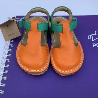 Sandália Infantil Balanço Cenoura/ Verde Bazar!