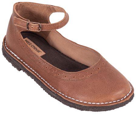 Sapato Infantil Patinete Castanha