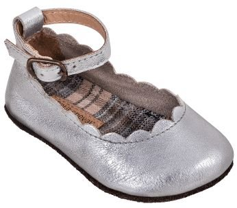 Sapato Boneca Prata