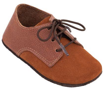 Sapato Infantil Balão Canela/Castanha