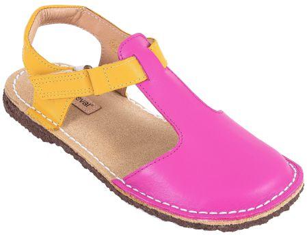 Sandália Infantil Balanço Rosa/Amarelo