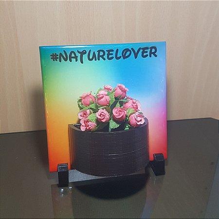#naturelover - Quadro e Vasinho