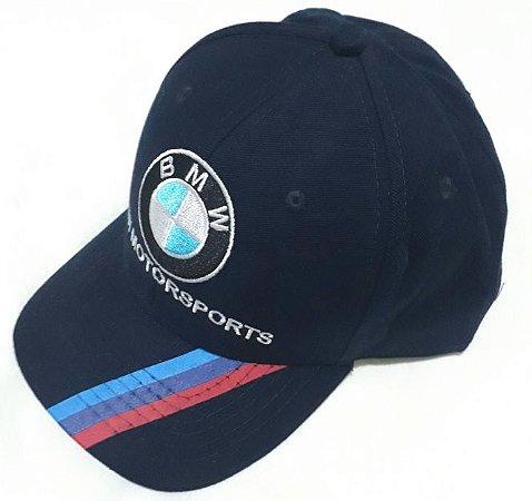 9651cd2e74163 Boné BMW 05 Azul - Motoland Acessorios Esportivos