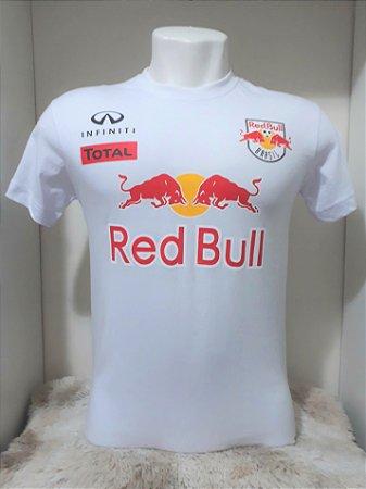 19c17c6e28001 Camiseta Red Bull 01 Branca Infiniti - Motoland Acessorios Esportivos