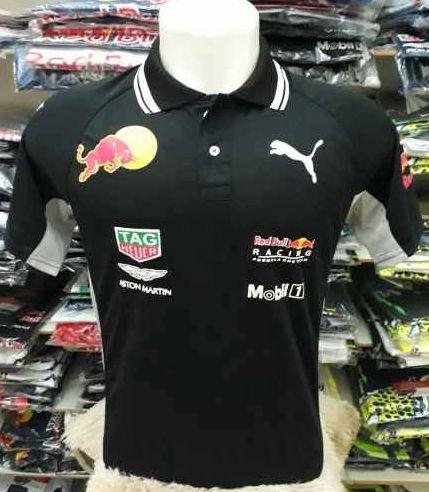70d89252bb6c4 Camisa Polo Red Bull 03 Preta - Motoland Acessorios Esportivos