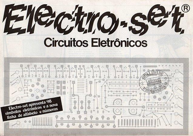 Electro-set Circuitos Eletrônicos - Letraset