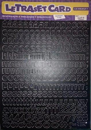 Letraset LetrasetCard - Cartela de letras autoadesivas