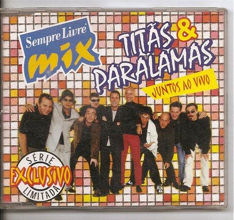 Cd Titãs & Paralamas - Juntos ao Vivo (Sempre Livre Mix)
