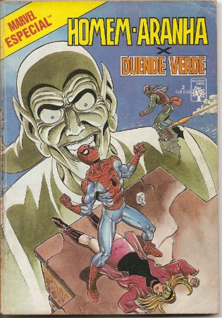 """Hq Homem Aranha Nº 2 Marvel Especial  """"Homem Aranha Versus Duende Verde"""""""