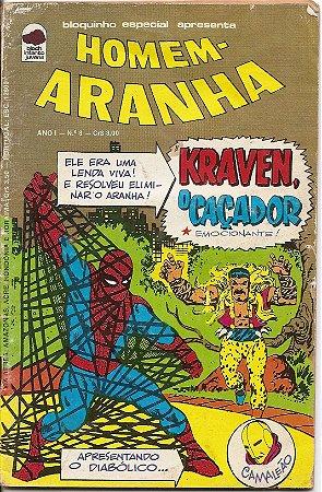 """Hq Homem Aranha nº 8 """"Kraven o Caçador"""""""