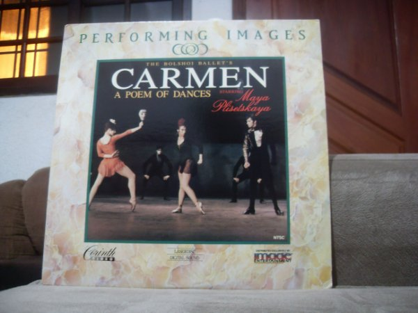 Laserdisc - The Bolshoi Ballets Carmen A Poem Of Dances