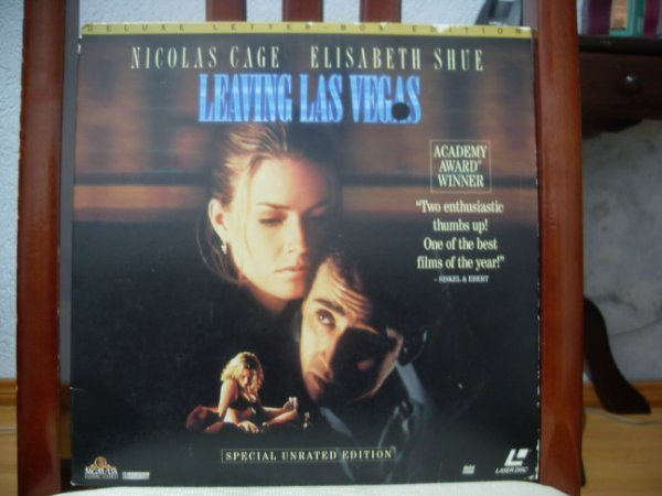 (Laserdisc) Leaving Las vegas - Nicolas Cage, Elisabeth Shue