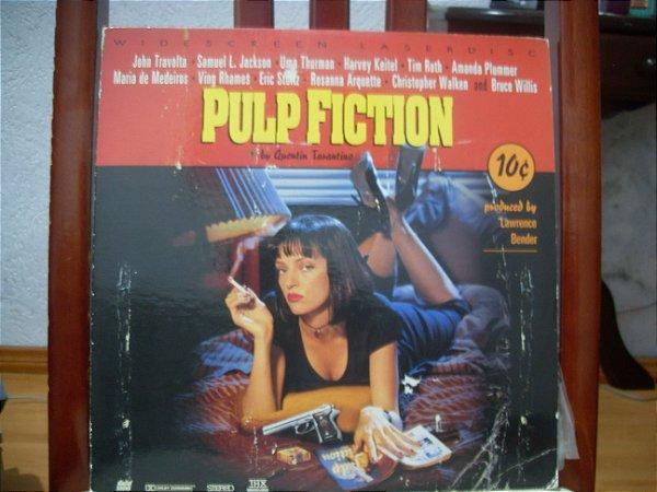 (Laserdisc[2]) -  Pulp Fiction - John Travolta • Samuel L. Jackson