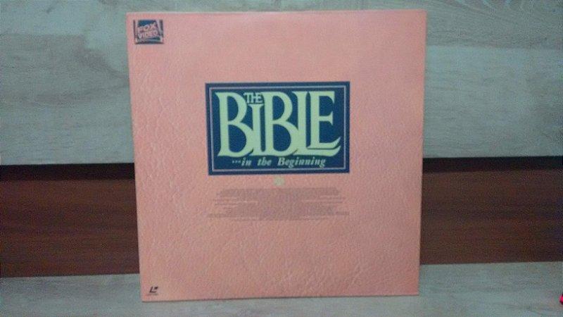Laserdisc - The Bible ... In The Beginning  • Dino De Laurentiis - Michae Parks